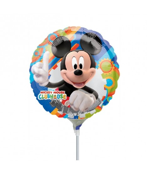 Globo Palito Mini Mickey 9""