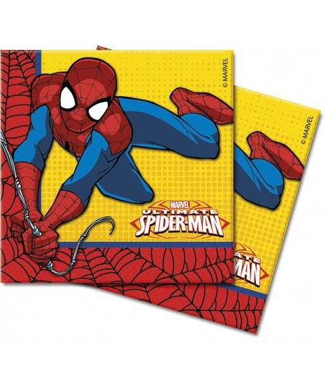 Servilletas Ultimate Spiderman 20 Uds