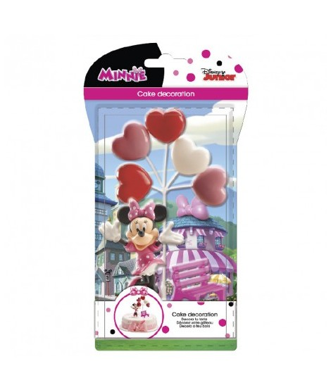 Kit Retail Minnie Decoración Para Tartas
