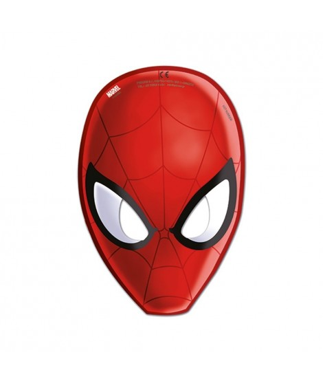 Caretas Ultimate Spiderman Web Warriors 6 Unidades
