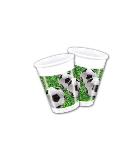 Vasos Football Party (200 Ml) 8 Unidades