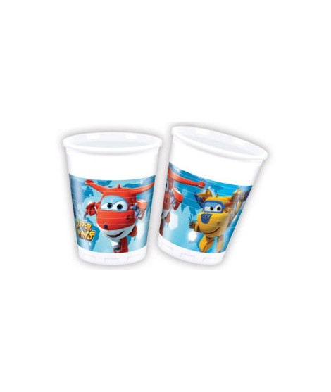 Vasos Super Wings (200 Ml) 8 Unidades