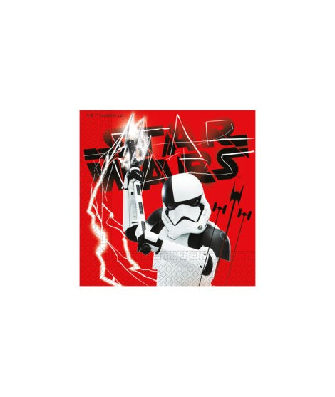 Servilletas Star Wars Episode 8 (33 Cm X 33 Cm) 20 Unidades
