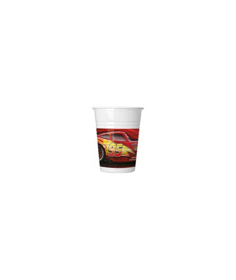 Vasos Cars The Legen Of The Track (200 Ml) 8 Unidades