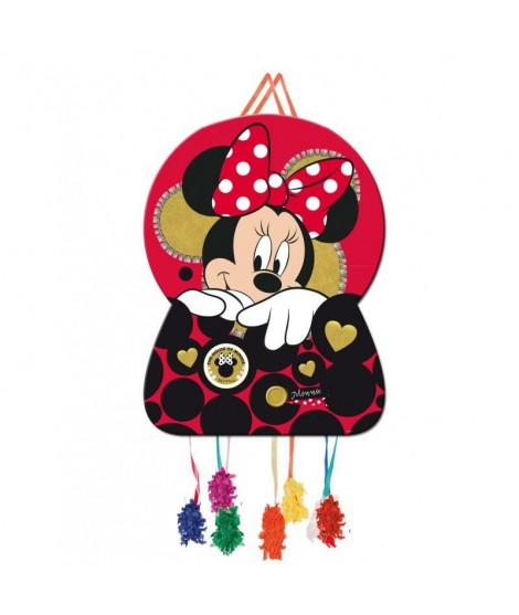 Piñata Grande Perfil Minnie Mouse Gold