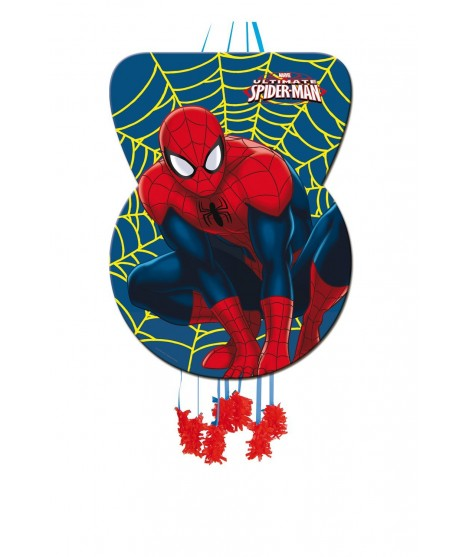 Piñata Grande Silueta Ultimate Spiderman (46 Cm X 65 Cm)