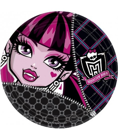 Platos Monster High 8 Uds