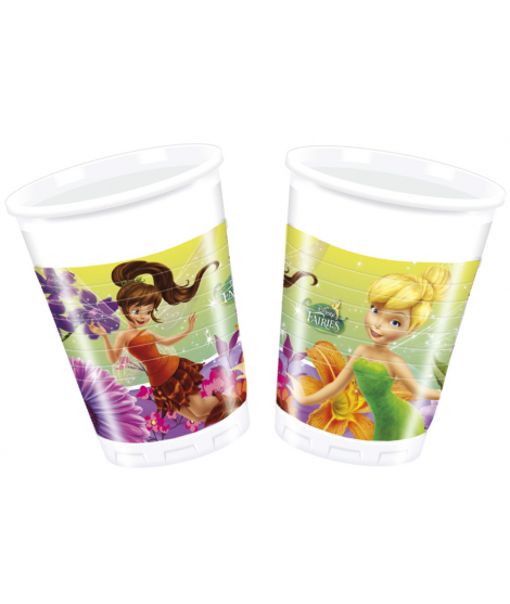 Vasos fairies magic 8 ud.
