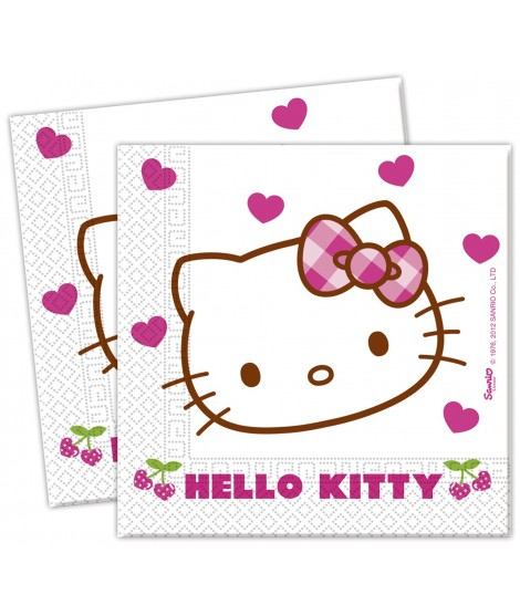 Servilletas Hello Kitty