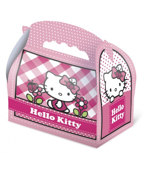 Estuche Hello Kitty pink