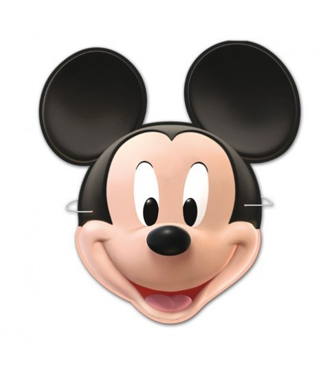 Caretas Mickey 6 Uds