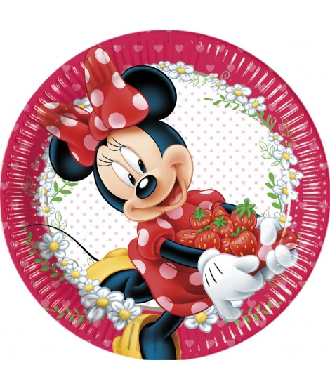 Platos Minnie Mouse Jam Packed 8 Uds