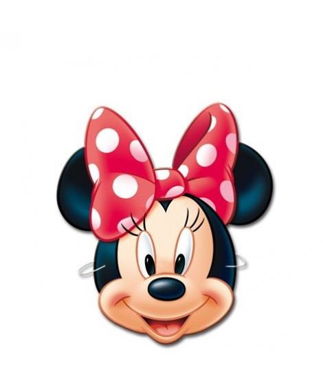 Caretas Minnie 6 Uds