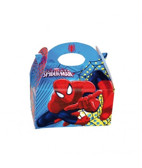 Cajita Spiderman 24 Uds