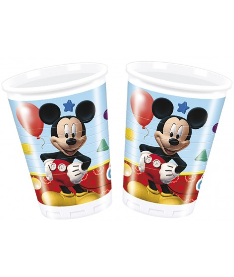 Vasos Mickey Playful 8 Uds