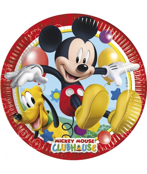 Platos Mickey Playful 8 Uds