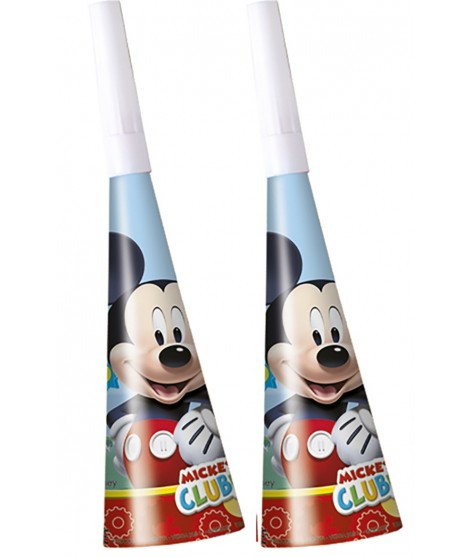 Trompetas Mickey Playful 6 Uds