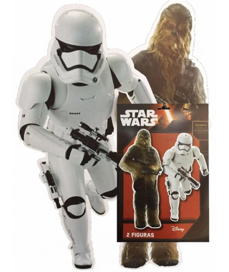 Figuras Star Wars 2 Uds