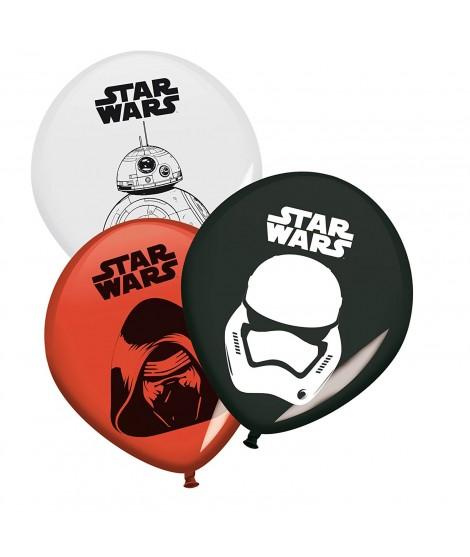 Globos Star Wars 8 Uds